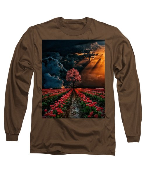 Colours Of The Sky Long Sleeve T-Shirt