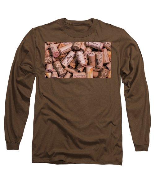 Wine Lovers Long Sleeve T-Shirt