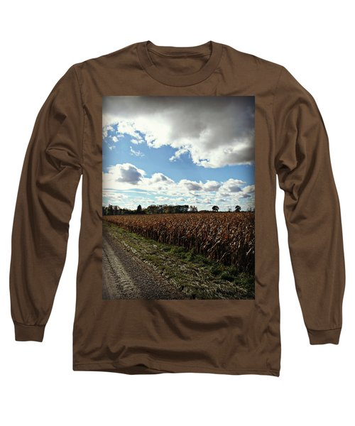 Country Autumn Curves 2 Long Sleeve T-Shirt