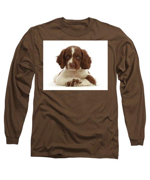 Cross Paws Long Sleeve T-Shirt