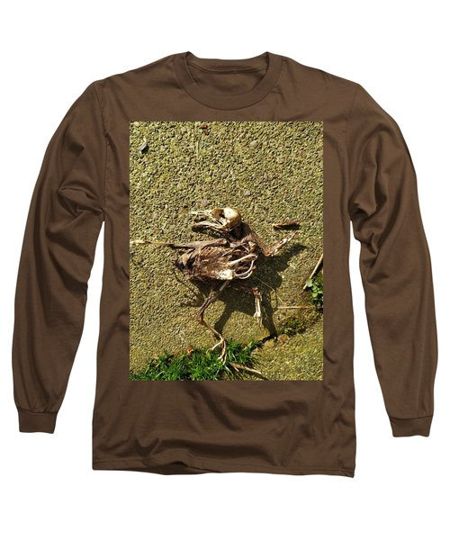 Death Shows Us We Are Nothing But Bones Long Sleeve T-Shirt