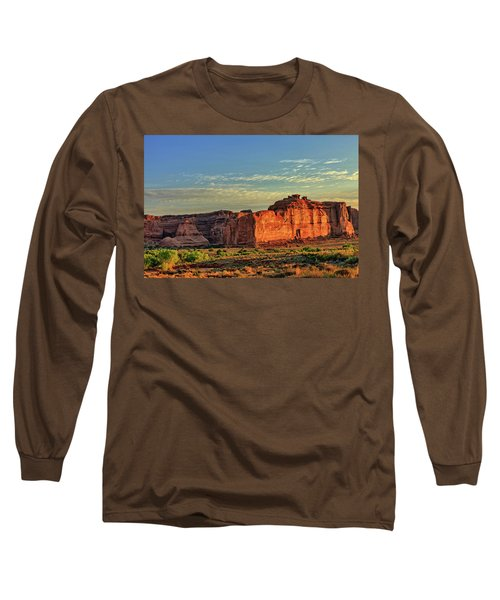 Desert Sunrise In Color Long Sleeve T-Shirt