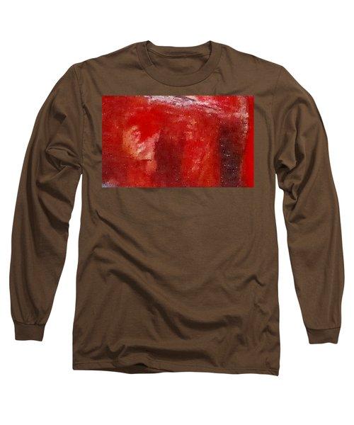 Digital Abstract N12. Long Sleeve T-Shirt