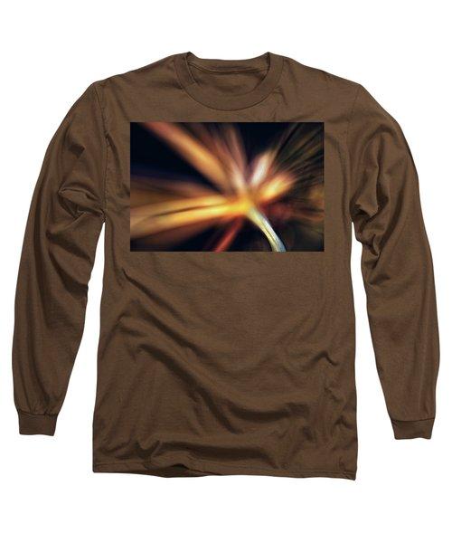 Dill Flower Abstract Long Sleeve T-Shirt