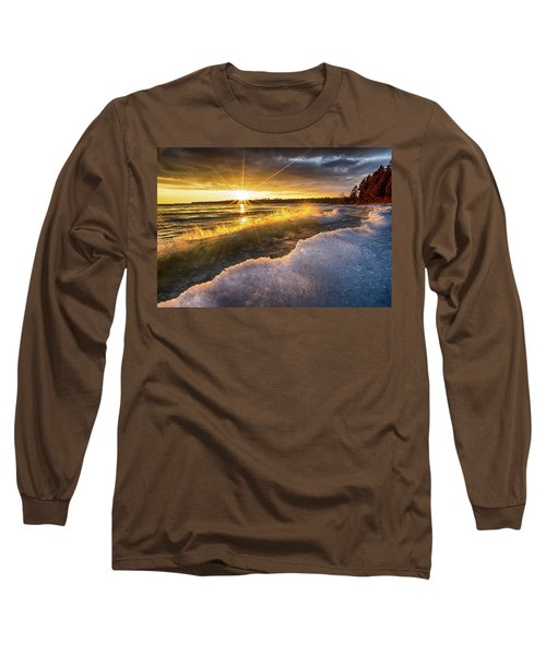 Door County Sunset Long Sleeve T-Shirt