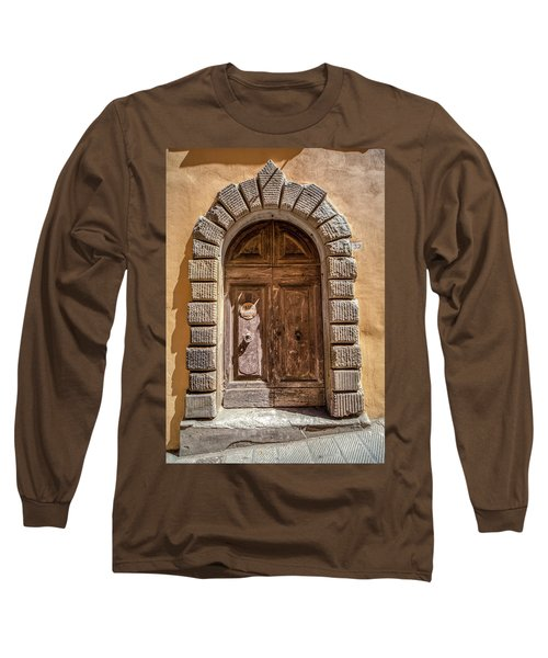Door Thirty Two Of Tuscany Long Sleeve T-Shirt