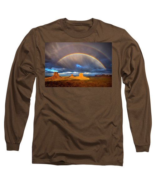 Monsoon Season At The Mittens Long Sleeve T-Shirt
