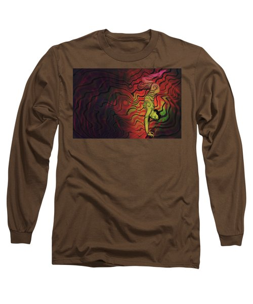 Dynamic Color Long Sleeve T-Shirt