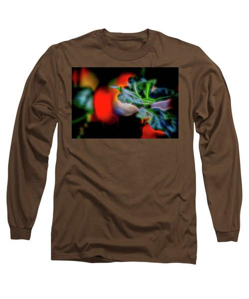 Electric Leaves Long Sleeve T-Shirt