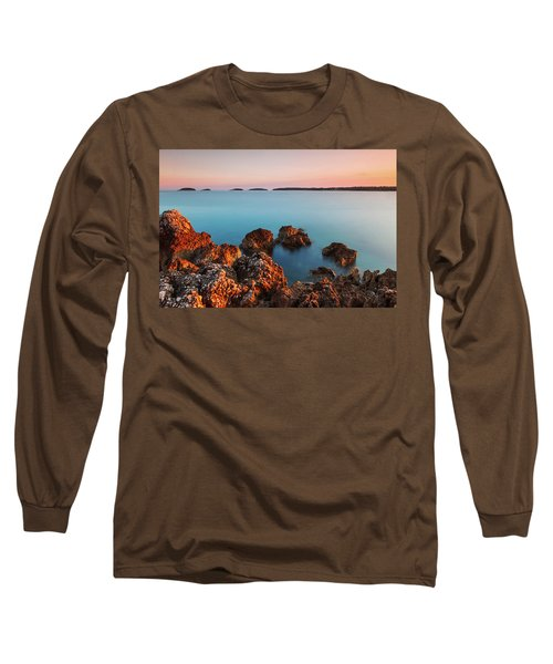 Ember And Blue Long Sleeve T-Shirt