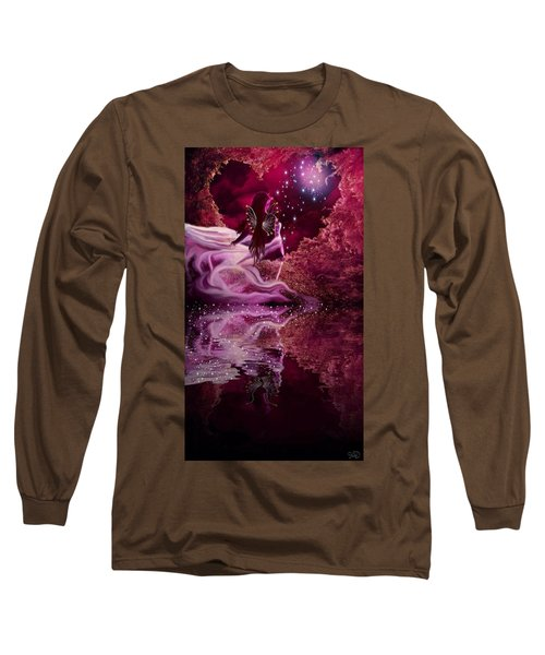 Face Of An Angel Long Sleeve T-Shirt