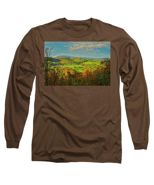 Fall Porch View Long Sleeve T-Shirt
