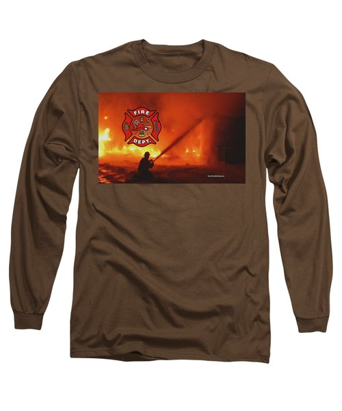 Fire Fighting 5 Long Sleeve T-Shirt