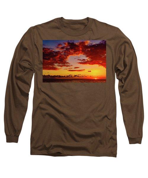 First November Sunset Long Sleeve T-Shirt