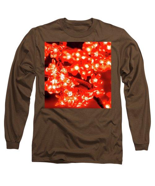 Flower Lights 4 Long Sleeve T-Shirt