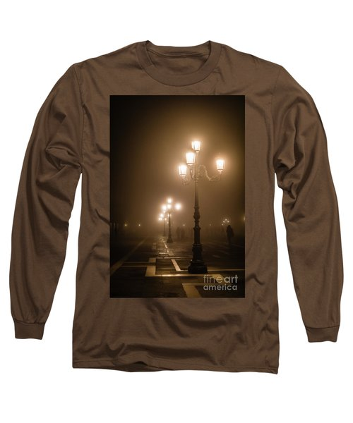 Foggy Piazza San Marco, Venice Long Sleeve T-Shirt