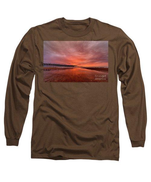 Glowing Sunrise Long Sleeve T-Shirt