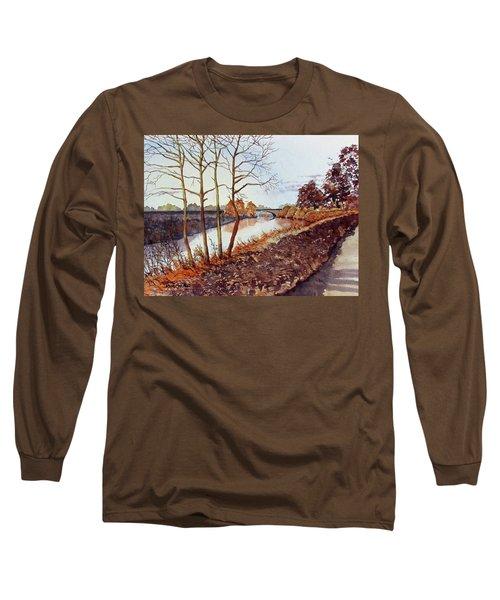 Golden Brown Long Sleeve T-Shirt