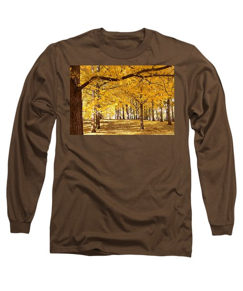 Golden Ginkgo Long Sleeve T-Shirt