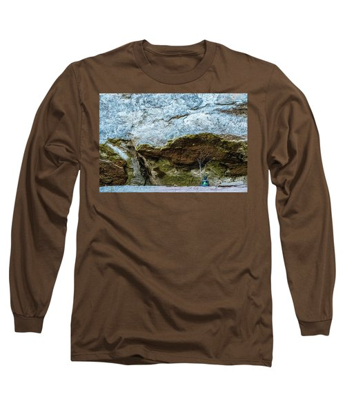 Green Buddha And The Flying Trapeze Long Sleeve T-Shirt