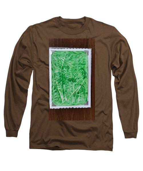 Green Jungle Long Sleeve T-Shirt