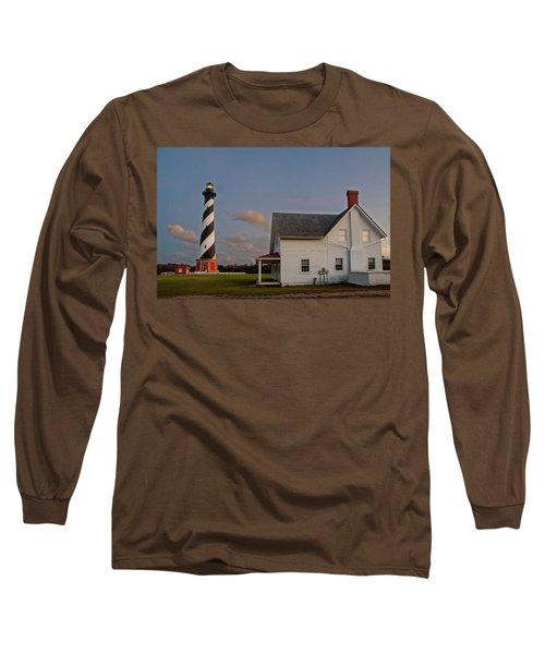 Hatteras Lighthouse No. 3 Long Sleeve T-Shirt