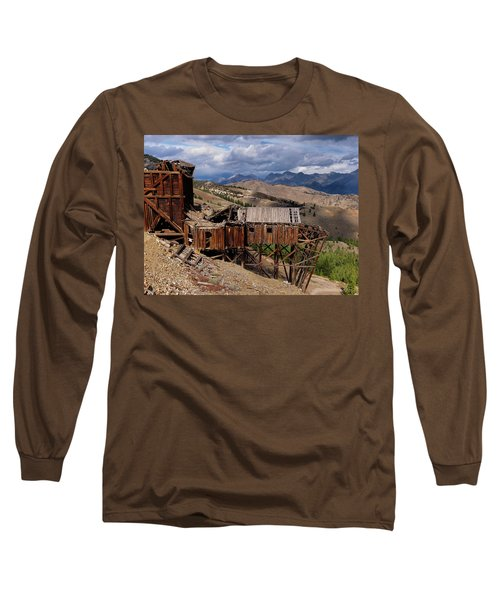 Holding On Long Sleeve T-Shirt