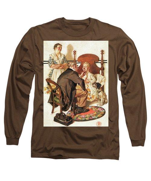 Hospital Bed - Digital Remastered Edition Long Sleeve T-Shirt