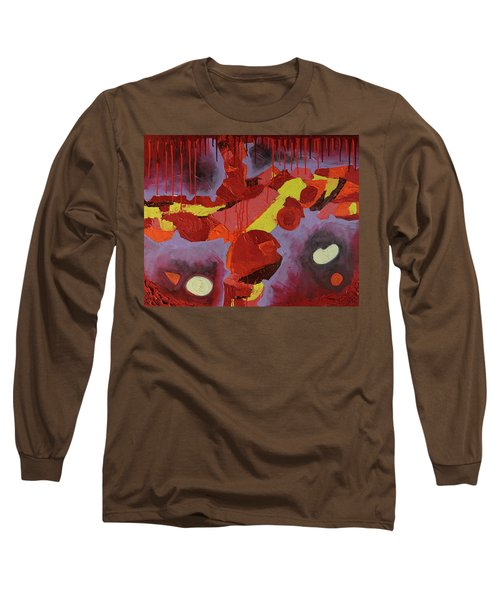 Hot Red Long Sleeve T-Shirt