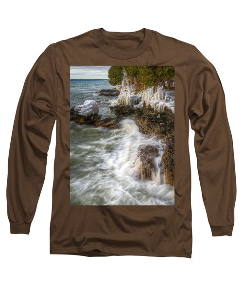 Ice And Waves Long Sleeve T-Shirt