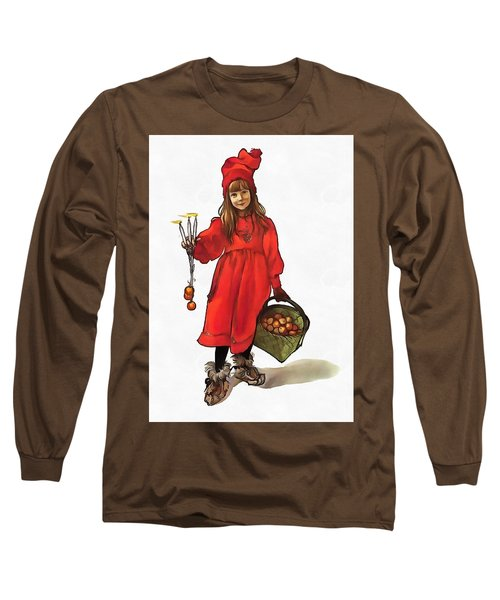 Iduna And Her Magic Apples Long Sleeve T-Shirt