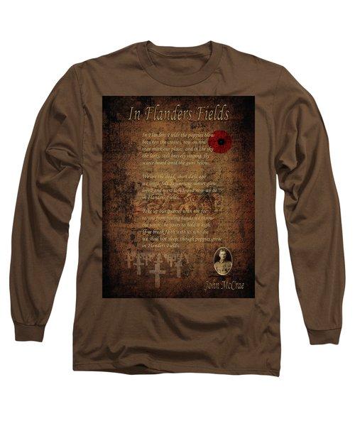 In Flanders Fields 2 Long Sleeve T-Shirt