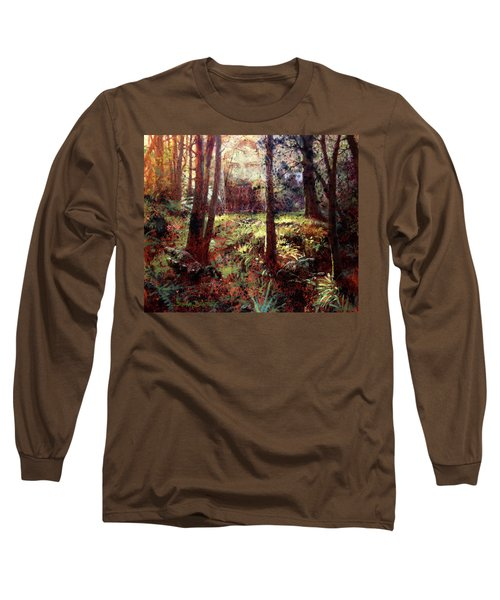 In Him We Live, And Move, And Have Our Being Long Sleeve T-Shirt