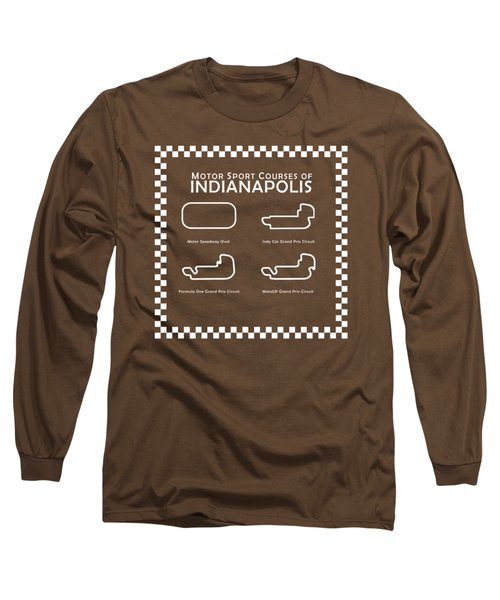 Indianapolis Courses Long Sleeve T-Shirt