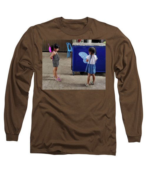 Is There Something Wrong With Your Wings Long Sleeve T-Shirt