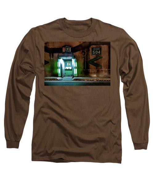 Long Sleeve T-Shirt featuring the photograph Issue 504 by Randy Scherkenbach
