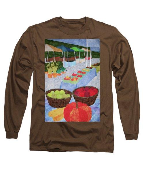 Kings Yard Farmers Market Long Sleeve T-Shirt