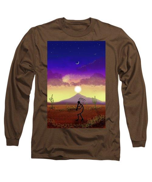 Kokopelli Dream World Long Sleeve T-Shirt