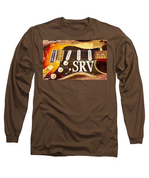 Lenny Stevie Ray Vaughans Guitar Long Sleeve T-Shirt