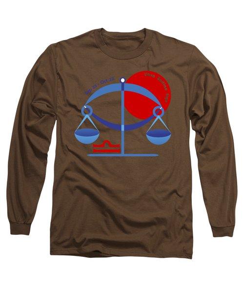 Libra - Scales Long Sleeve T-Shirt