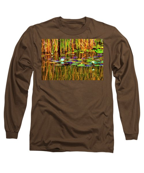 Lilypond Reflections Long Sleeve T-Shirt