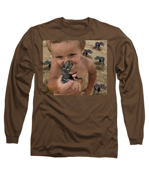 Lots Of These Snappy Critters Round Long Sleeve T-Shirt
