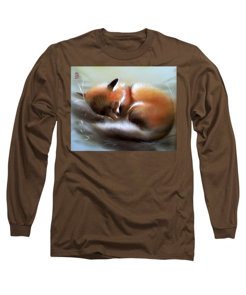 Lullaby For Baby Fox Long Sleeve T-Shirt