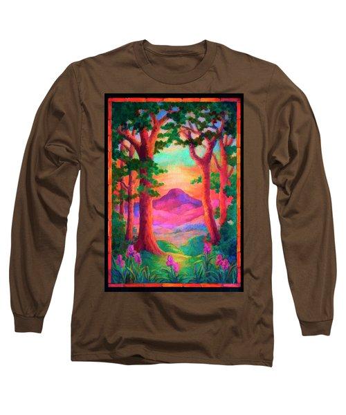 Magenta Morning Long Sleeve T-Shirt