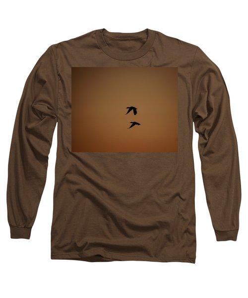 Mallard Morning Long Sleeve T-Shirt