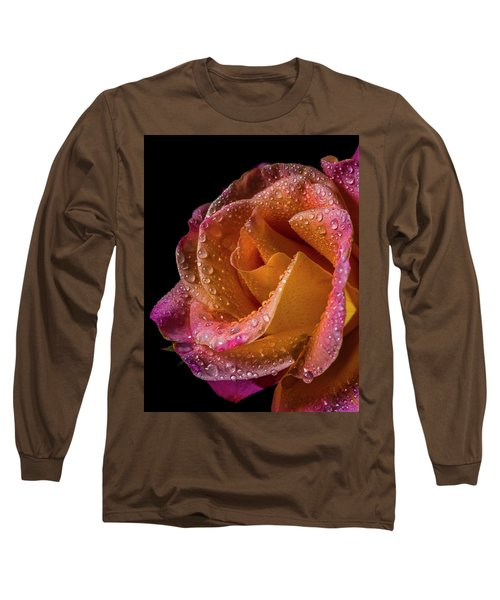 Mardi Gras Sprinkled Beauty Long Sleeve T-Shirt