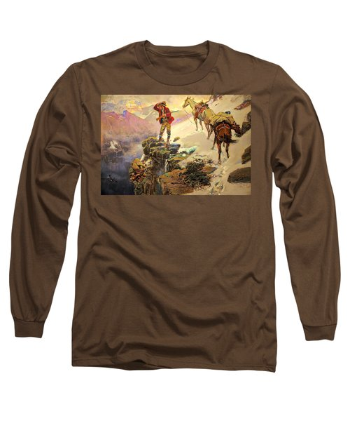 Meats Not Meat Til Its In The Pan Long Sleeve T-Shirt