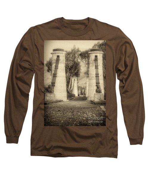 Medieval Bridge Long Sleeve T-Shirt