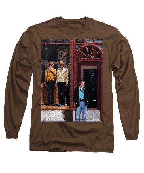 Men's Fashion Oil Painting Long Sleeve T-Shirt