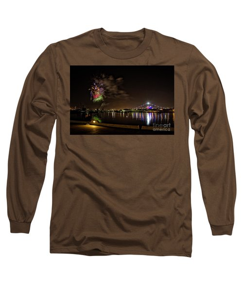 Midway Fireworks  Long Sleeve T-Shirt